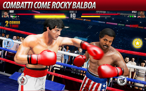 Real Boxing 2 ROCKY- miniatura screenshot