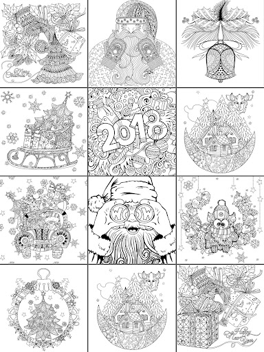 2018  Christmas Coloring Book 2.9.2 screenshots 5