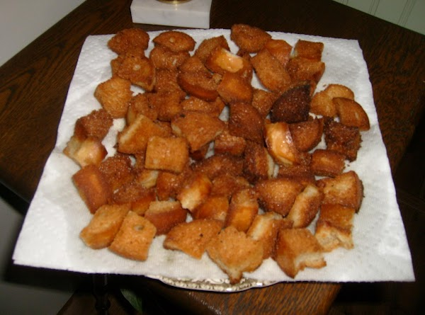 allow bread crumbs to sit overnight to become stale--heat oil to 350 degrees and...