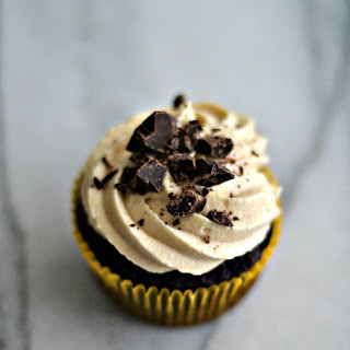 Chocolate Cupcakes with Cookie Dough Frosting Recipe