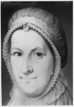 Photo: Gijsberta van den Ham (1777-1824), gehuwd met Harmen Hesselink (1772-1822). Omdat hij predikant was, zijn hun vier zonen en een dochter (plus een doodgeboren kind) in verschillende plaatsen geboren. Drie van de jongens werden net als pa predikant. Het valt op, dat zij maar 27, 31 en 30 jaar oud werden. Predikantschap behoedt je dus niet voor een vroege dood.