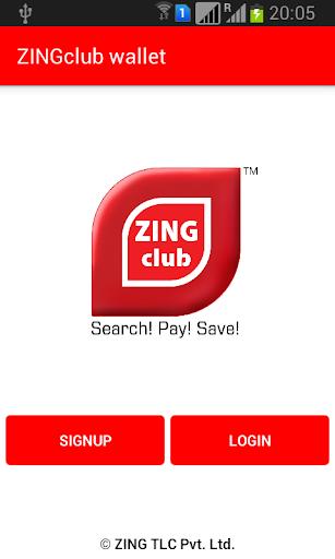 ZINGclub wallet