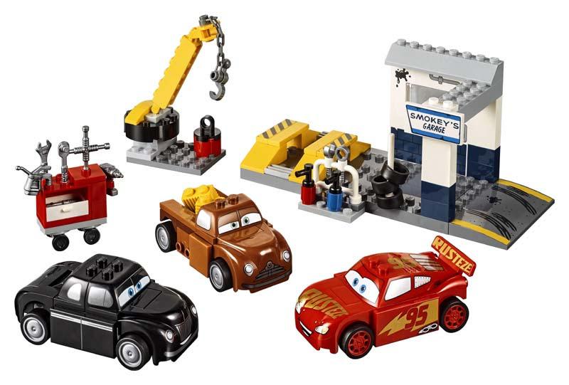 Contenido de Lego® 10743 Taller de Smokey