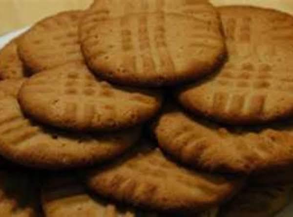 Cake Mix Peanut Butter Cookies