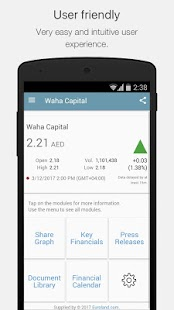 Waha Capital IR- screenshot thumbnail