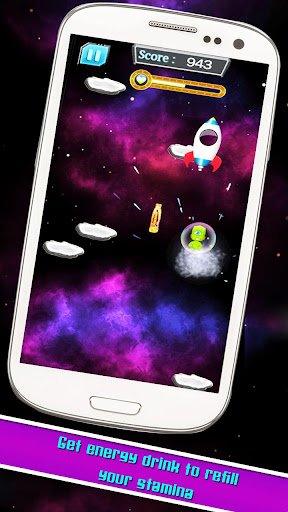 Alien Galaxy Jump : Space