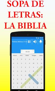 Sopa de letras de la biblia aplicaciones en google play captura de pantalla urtaz Images
