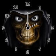 Scary Clock Widget