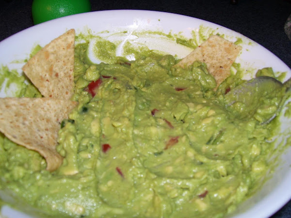 Fresh Guacamole! Recipe