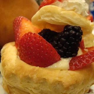 Cream Puff In Pan.