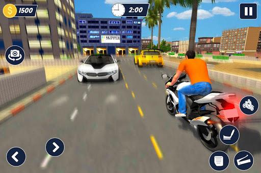 Bike parking 2019: Motorcycle Driving School filehippodl screenshot 13