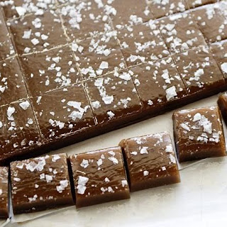 Salted Whiskey Caramels.