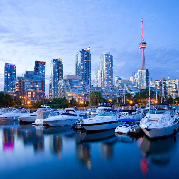 Photo: Toronto harbor and skyline.  Learn more here: http://www.inspirato.com/destinations/toronto-canada