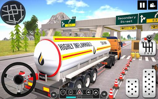 Oil Tanker Truck Driver 3D - Free Truck Games 2020 apktreat screenshots 2