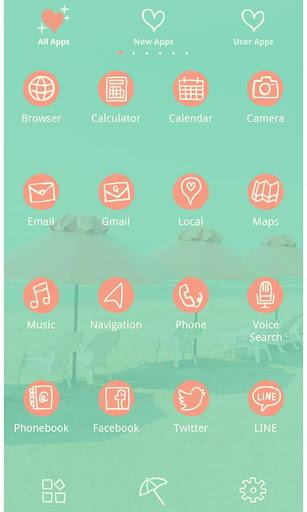Summer Wallpaper-Retro Beach- 1.0.0 Windows u7528 3