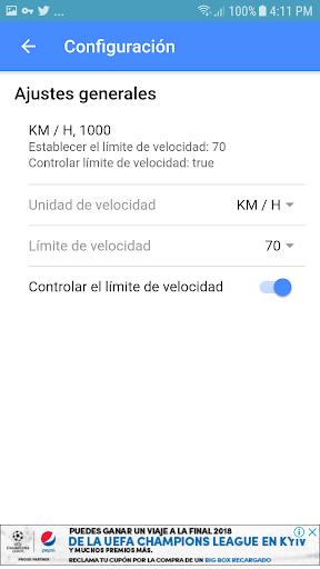 Velocimetro digital GPS  sin datos o internet 0.0.2 screenshots 3