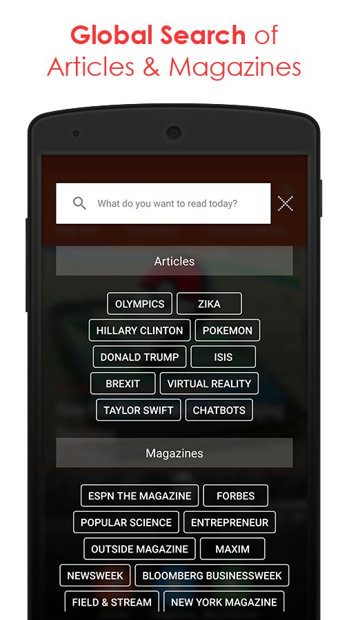 Magzter: All Digital Magazines- screenshot