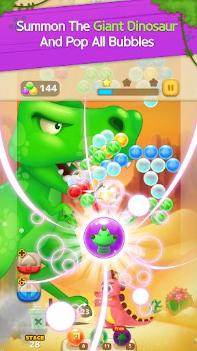 Bubble Shooter: Dino Friends screenshots 2