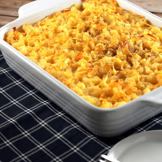 Baked Pasta With Cheddar Cheese Recipes