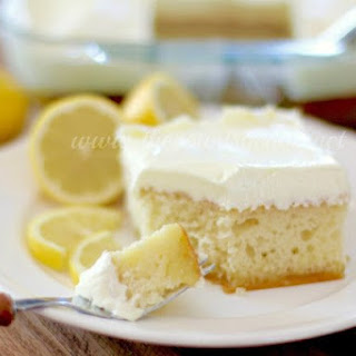Lemon Dream Cake.