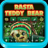Rasta Teddy Bear Keyboard