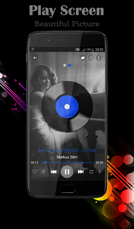 Download BlackPlayer Music Player APK latest version Limited