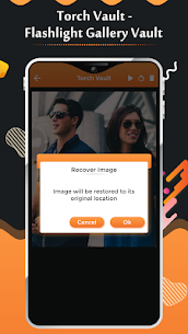 Torch Vault – Flashlight Gallery Vault Apk Download for Android 5