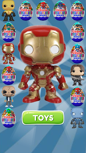 Surprise Eggs Superheroes- screenshot thumbnail