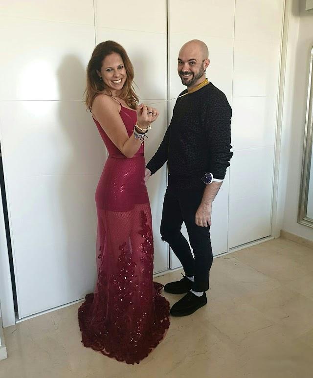 Pastora Soler vestida por Sergi Regal.