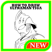 Tải Game how to draw ultraman tiga Easy