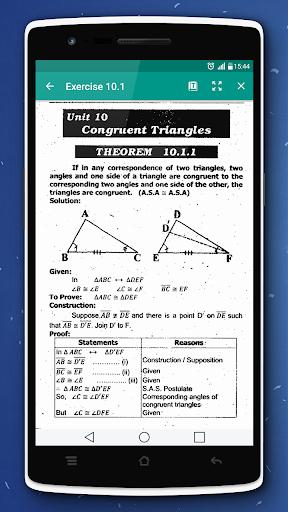 Key & Textbook Maths 9 (PTB)  screenshots 4
