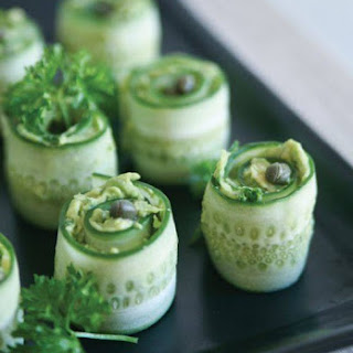 Cucumber Rolls.