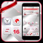Red White Technology Theme icon