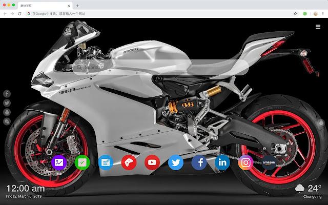 Ducati Pop Car HD Wallpapers New Tabs Theme