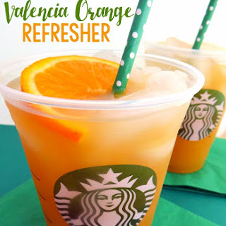 Starbucks Copycat Valencia Orange Refresher