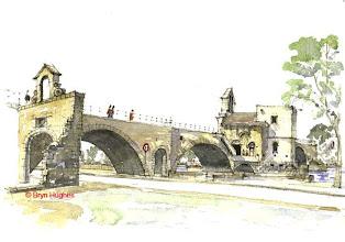 Photo: Avignon - Pont