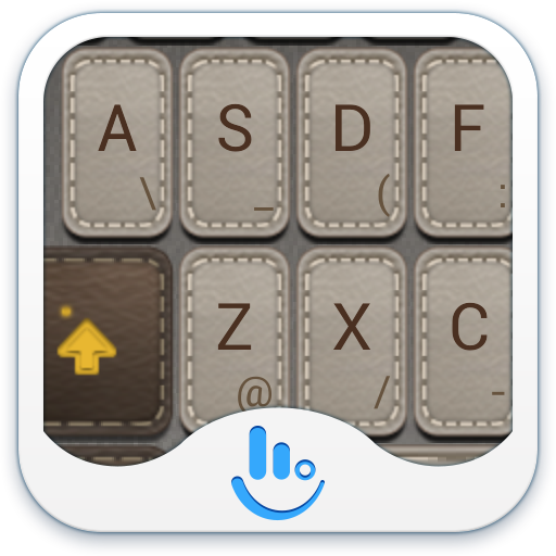 TouchPal Leather Theme