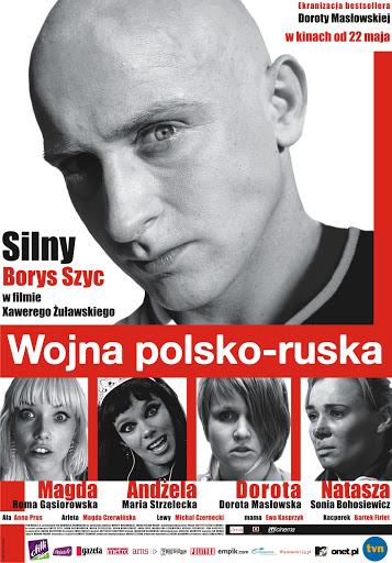 Polski plakat filmu 'Wojna Polsko-Ruska'