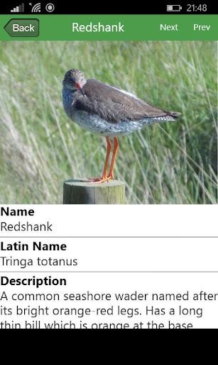 British Nature App - Part One