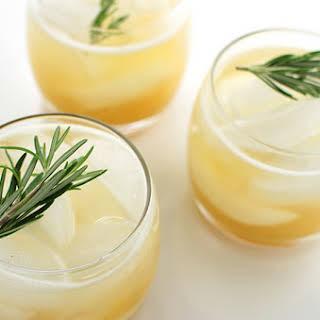 Rosemary-Peach Drinking Vinegar.