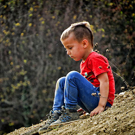 Sven by Dunja Kolar - Babies & Children Child Portraits ( portret, sven, croatia, samoborsko gorje )
