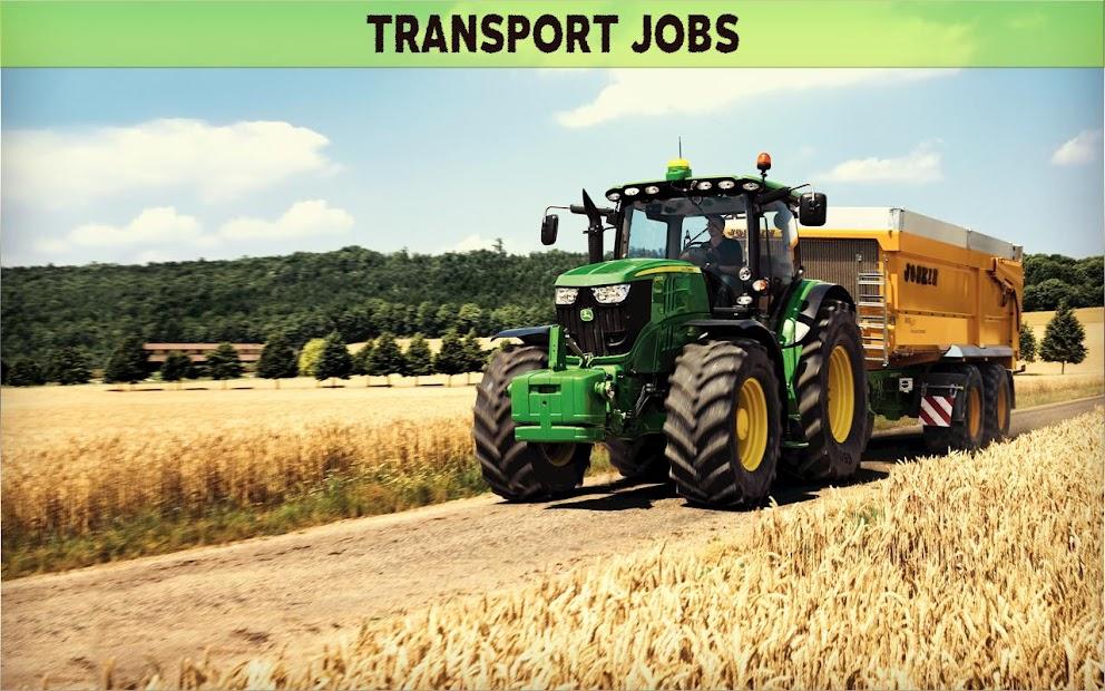Farming Simulator 19- Real Tractor Farming game
