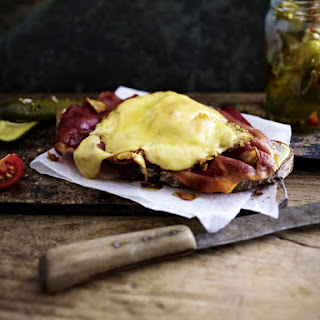 Bacon, Egg and Cheese on Toast
