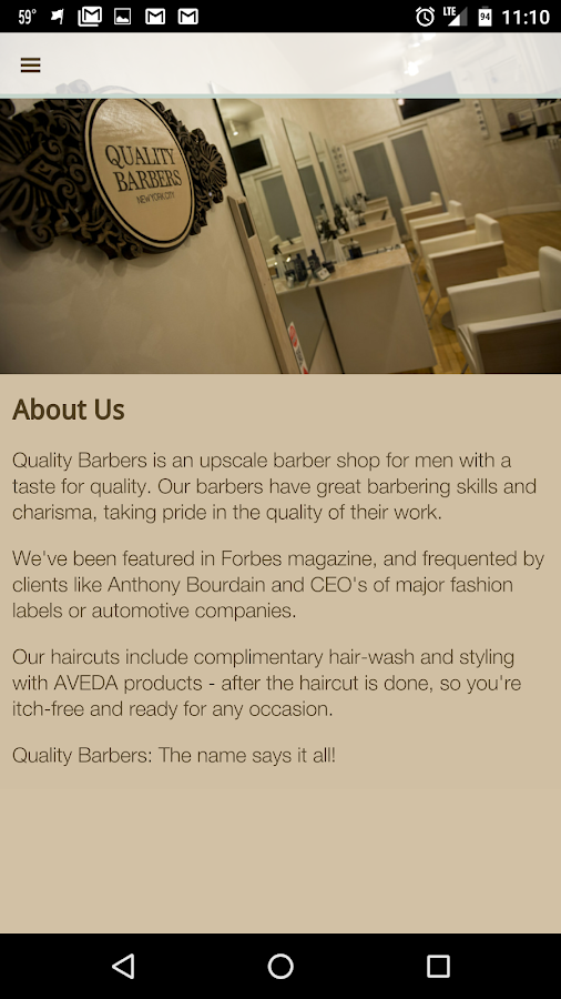 Quality Barbers (NEW)- screenshot