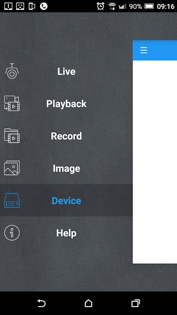 thêm đầu ghi samsung vào phần mềm xem trên điện thoại
