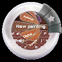 Raw painting Emoji icon