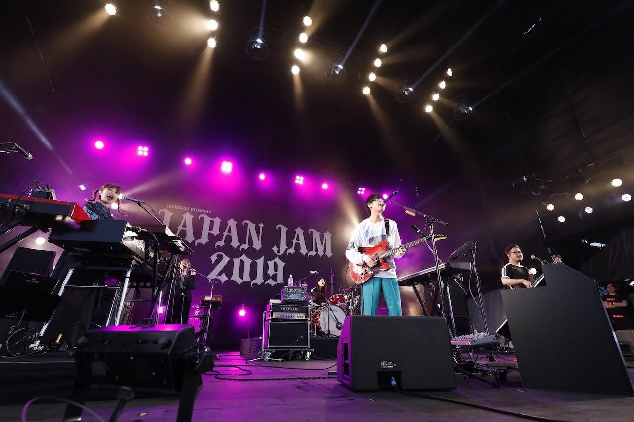 【迷迷現場】 JAPAN JAM 2019 極品下流少女。 ( ゲスの極み乙女。 )遊走多元風格