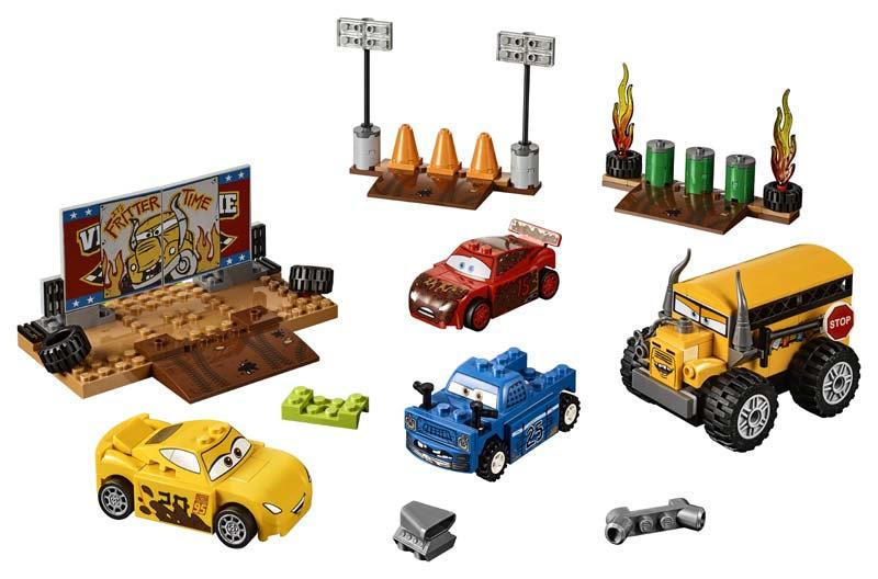Contenido de Lego® 10745 Carrera Final Florida 500