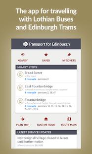 Transport for Edinburgh- screenshot thumbnail