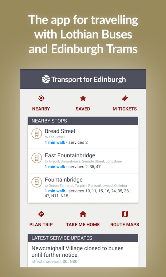 Will EdinBus be updated for the new iOS? What to use if ...